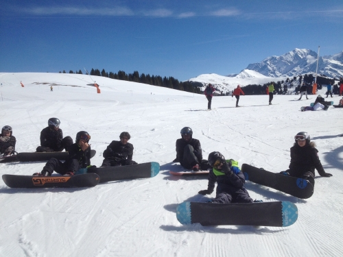 Groupe snowboard 1