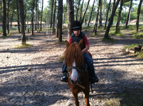 Petit tour en poney…